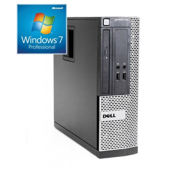 Dell Optiplex 390 i5-2400|4GB|120GB SSD|DVD|W7P|SFF