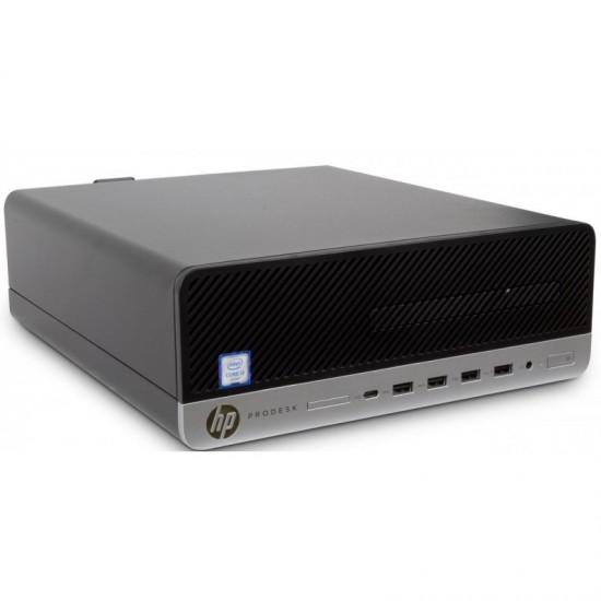 HP ProDesk 600 G3  I3-6100|8GB|SSD 120GB|DVD|NO OS|SFF